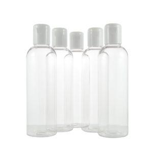 Flacons met witte clipdop – 200 ml [zak à 5 stuks]