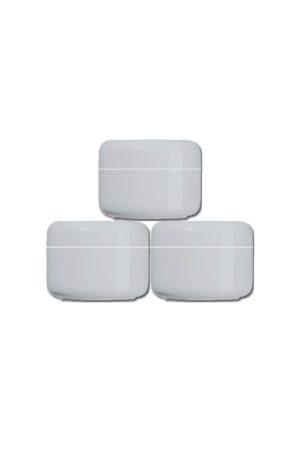 0048 2 1 300x450 - Dubbelwandige Crèmepot 30 ml - wit (zak à 20 stuks) - disposables-verpakkingen