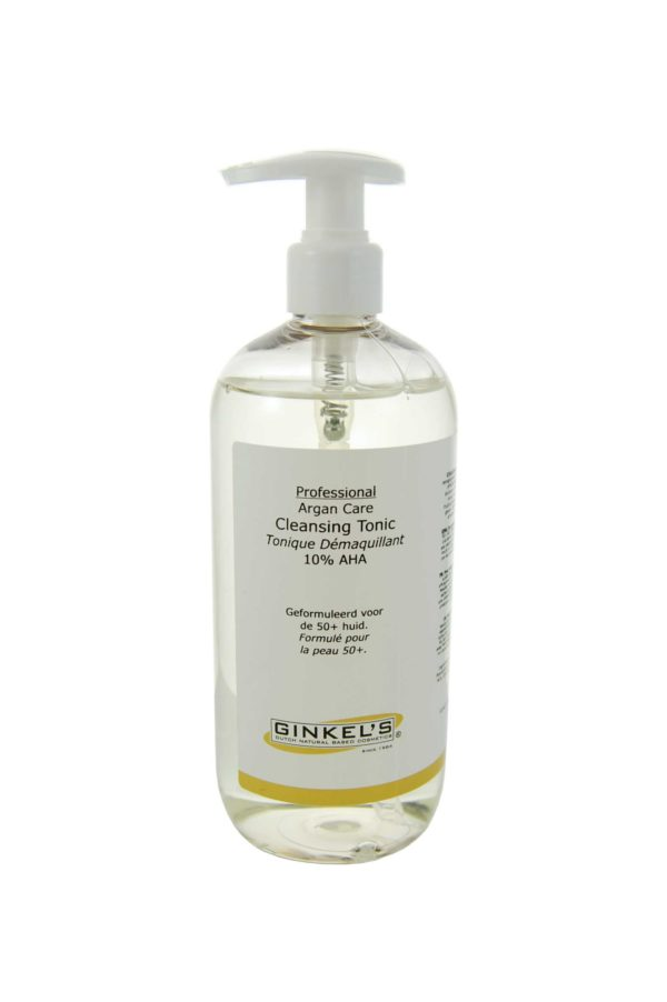 Ginkel's Argan Face Care – Cleansing Tonic 10% PROF. USE ONLY! 500 ml.