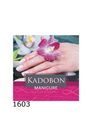Kadobon Manicure Bloem Hand – 12 stuks