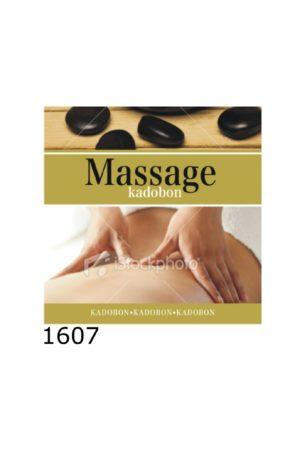 Kadobon Massage Goud – 12 stuks