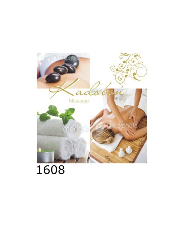 Kadobon Massage Luxe – 12 stuks