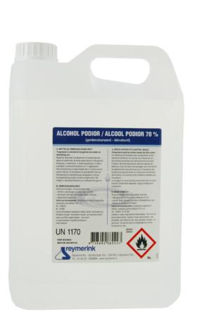 alcohol 5 liter 300x450 - Reymerink Alcohol 70% voor desinfectie 5 liter - desinfectie