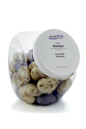 343 1 300x450 - Zeephartjes Lavendel pot 36 stuks a 30 gr. - zeep, la-beaute-de-provence, relatie-geschenkjes
