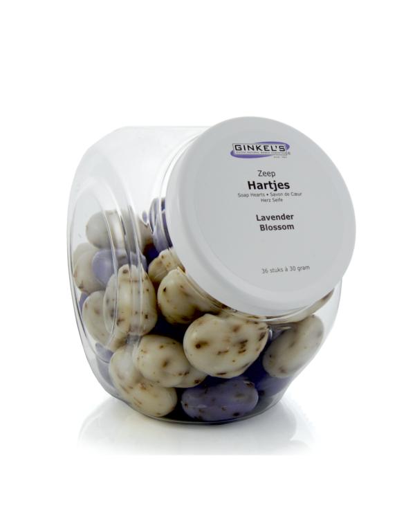 343 1 600x750 - Zeephartjes Lavendel pot 36 stuks a 30 gr. - zeep, relatie-geschenkjes, la-beaute-de-provence