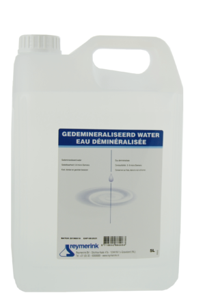 demi water 300x450 - Reymerink Demi Water 5 liter - desinfectie
