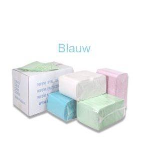 Dental Towels/Beschermdoeken – Blauw [Pak à 125 stuks]