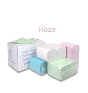 Dental Towels/Beschermdoeken – Roze [pak à 125 stuks]