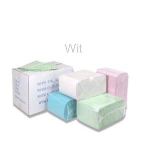 Dental Towels/Beschermdoeken – Wit [pak à 125 stuks]