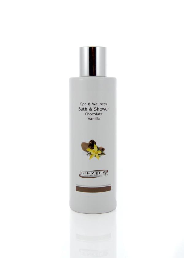 Bath & Shower Gel - Chocolate & Vanilla 200 ml-0