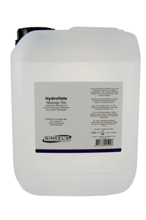 Ginkel's Hydrofiele Massage Olie 5 liter [Can]