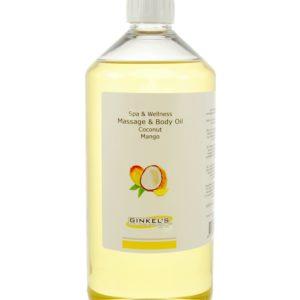 Massage & Body Oil – Coconut & Mango – 1000 ml