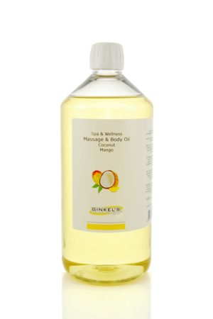 Massage & Body Oil – Coconut & Mango 1000 ml