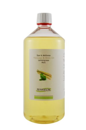 Massage & Body Oil - Lemongrass & Mint 1000 ml-0