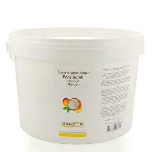 Butter & White Sugar Body Scrub – Coconut & Mango – 2500 gram