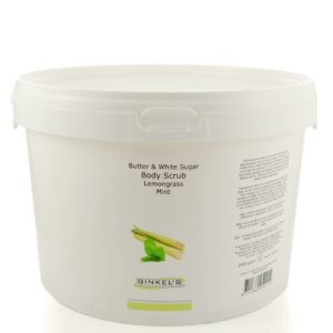 Butter & White Sugar Body Scrub – Lemongrass & Mint – 2500 gram