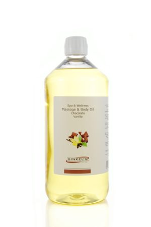 Massage & Body Oil – Chocolate & Vanilla 1000 ml