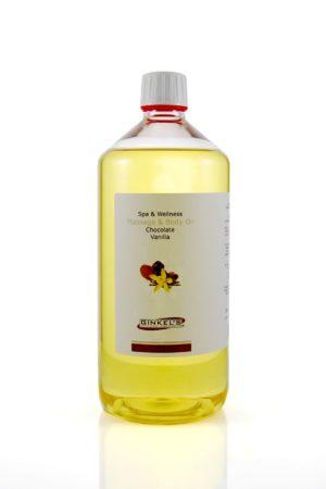 Massage & Body Oil - Chocolate & Vanilla 1000 ml-0