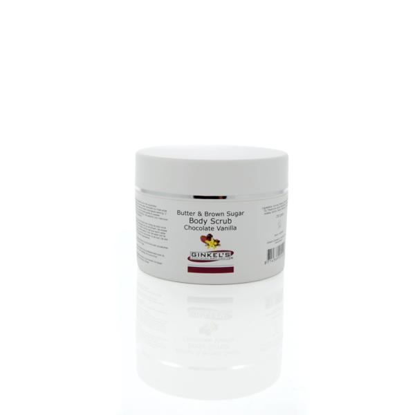 Butter & Brown Sugar Body Scrub – Chocolate & Vanilla 250 gram