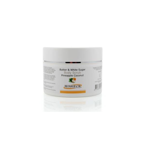 Butter & White Sugar Body Scrub - Pineapple & Coconut 250 gram-0
