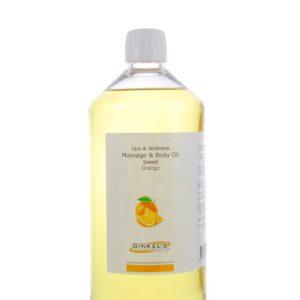 Massage & Body Oil – Sweet Orange – 1000 ml
