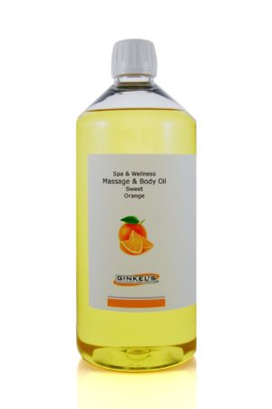 Massage & Body Oil - Sweet Orange 1000 ml-0