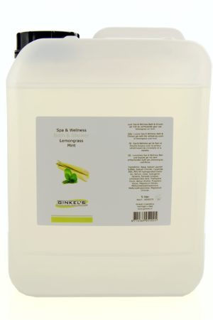 Bath & Shower Gel - Lemongrass & Mint 5000 ml-0