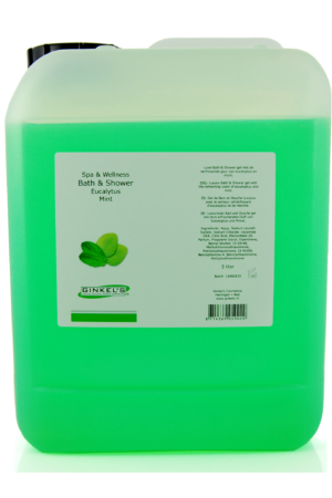 Bath & Shower Gel – Eucalyptus & Mint 5000 ml