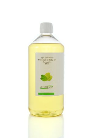 Massage & Body Oil – Eucalyptus & Mint 1000 ml