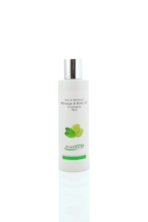 Massage & Body Oil – Eucalyptus & Mint 200 ml