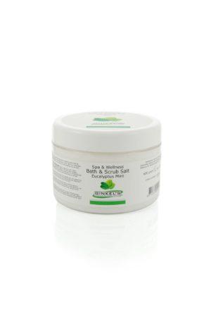 Bath & Scrub Salt – Eucalyptus & Mint 600 gr.