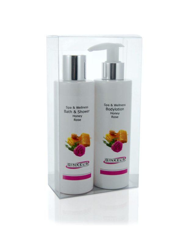 Spa & Wellness – Giftset – Honey & Rose