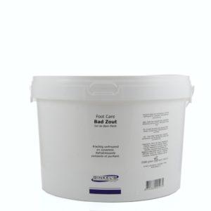 Ginkel's Foot Care – Bad Zout – 2500 gram [Salonverpakking]