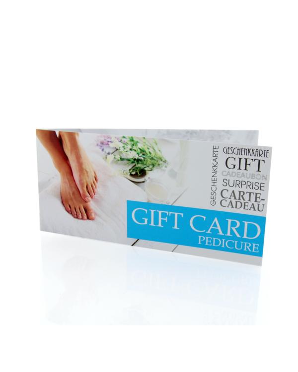 Gift Card Pedicure