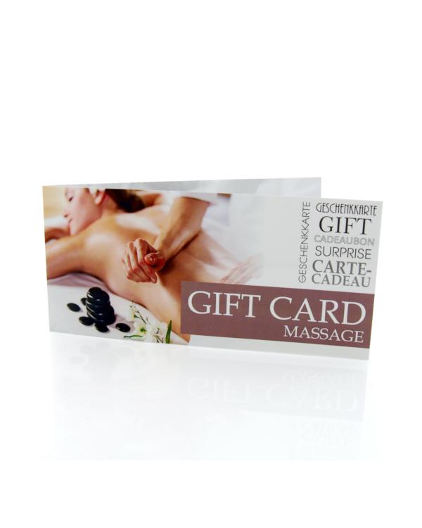 Gift Card Massage
