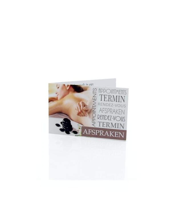 Afsprakenkaartjes Massage