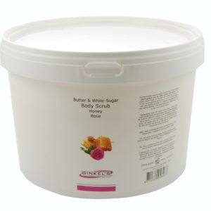Butter & White Sugar Body Scrub – Honey & Rose – 2500 gram