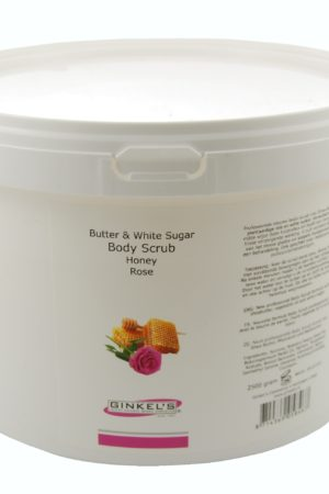 Butter & White Sugar Body Scrub – Honey & Rose 2500 gram