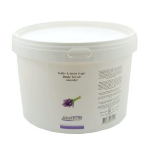 Butter & White Sugar Body Scrub – Lavender – 2500 gram