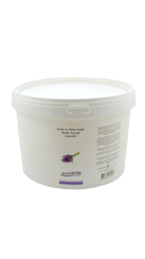 Butter & White Sugar Body Scrub – Lavender 2500 gram