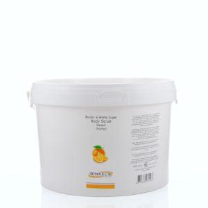 Butter & White Sugar Body Scrub – Sweet Orange – 2500 gram