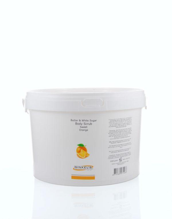Butter & White Sugar Body Scrub – Sweet Orange 2500 gram