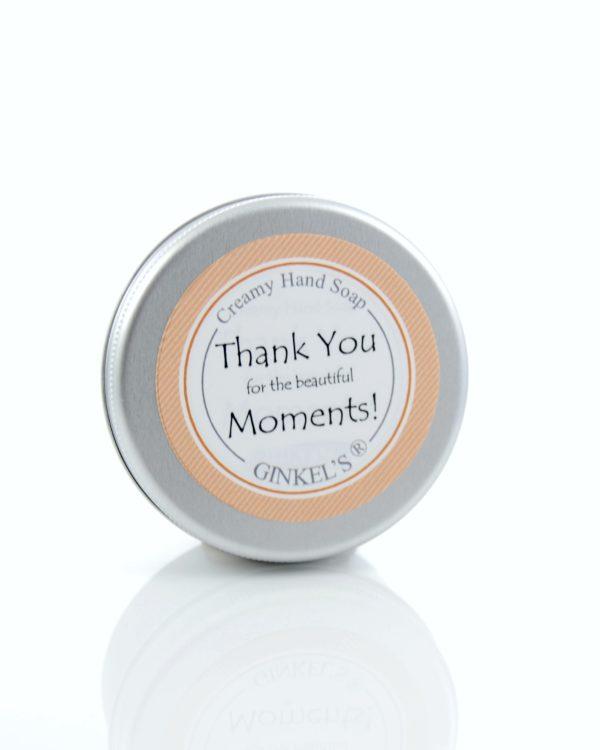 DSC 0180 600x750 - Creamy Hand Soap - 70 ml - Thanks for the Beautiful Moments! - relatie-geschenkjes, nieuw