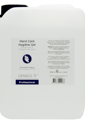 Ginkel's Hand Care Hygiëne Gel 5000 ml