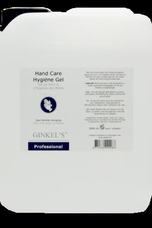 Ginkel's Hand Care Hygiëne Gel – 5000 ml [Can]